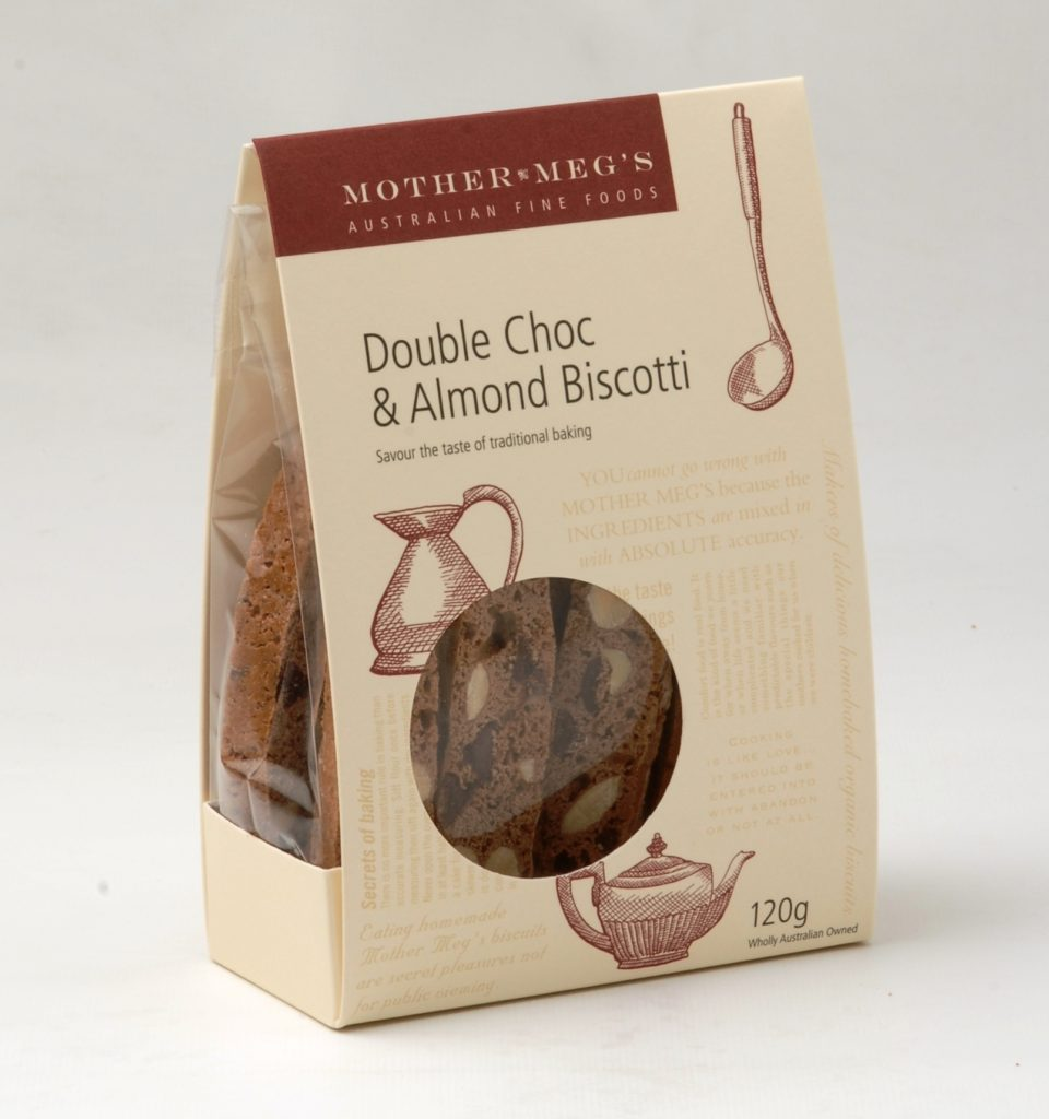 Double Choc and Almond Biscotti